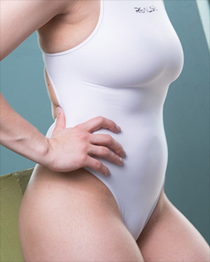 Valentina Skin Tight Swimsuit