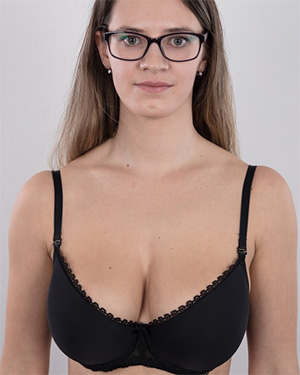 Veronika busty czech casting