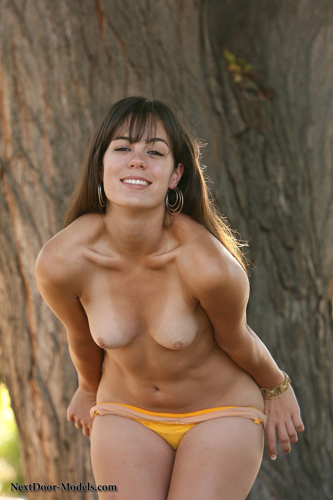 brooks flame bikini Abby