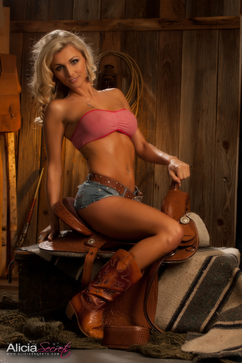 Think, that Cowgirl hot tease naked