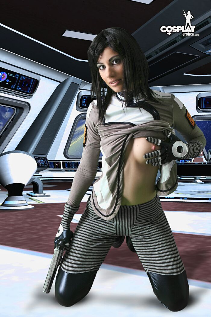 Star trek nude cosplay