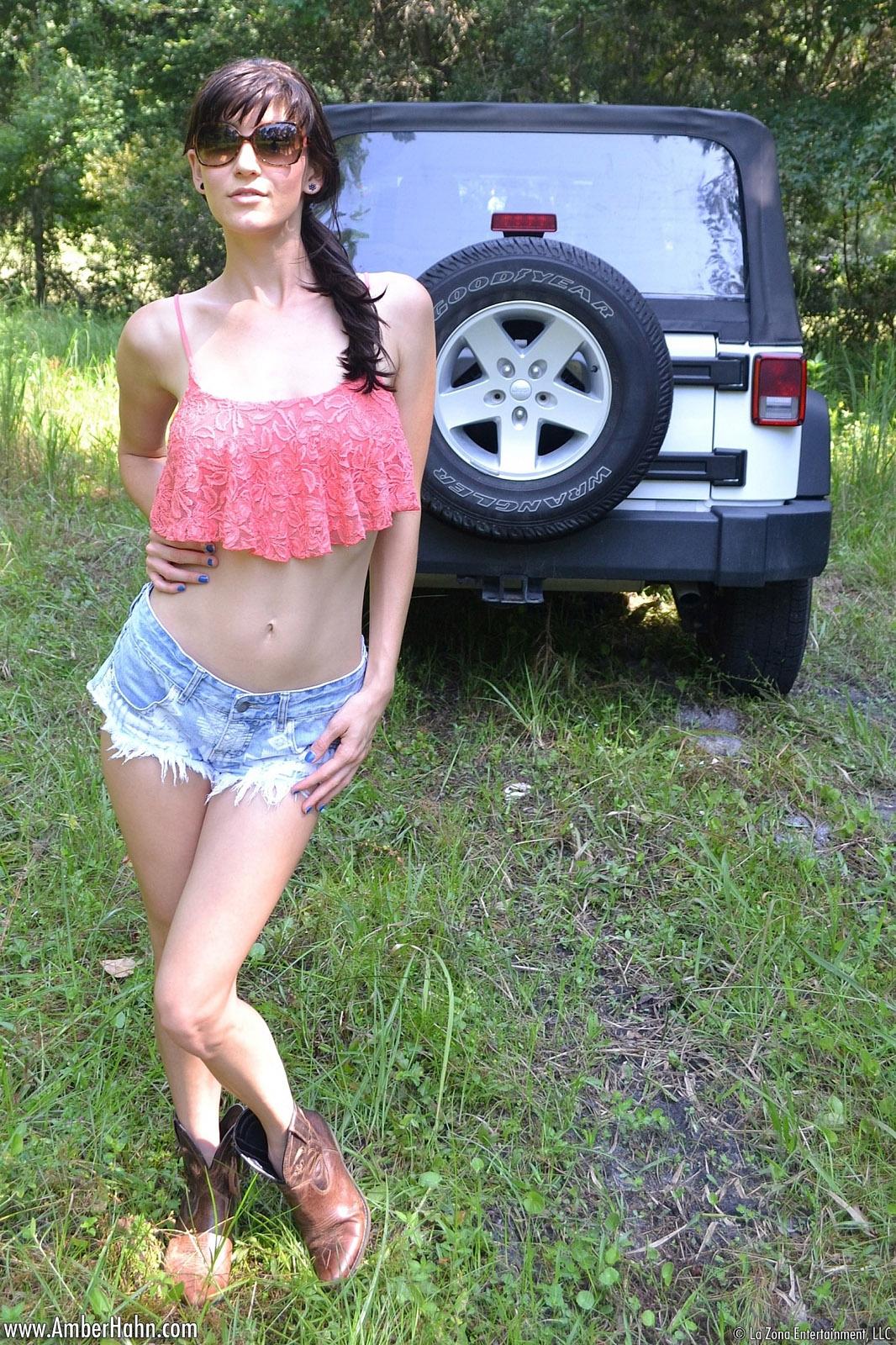 Dirty jeep girls doing photo 351