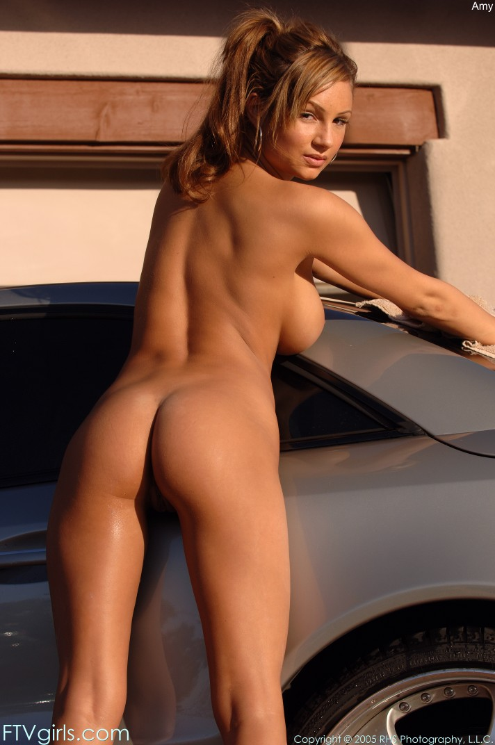 Nude babes and cars peachy has