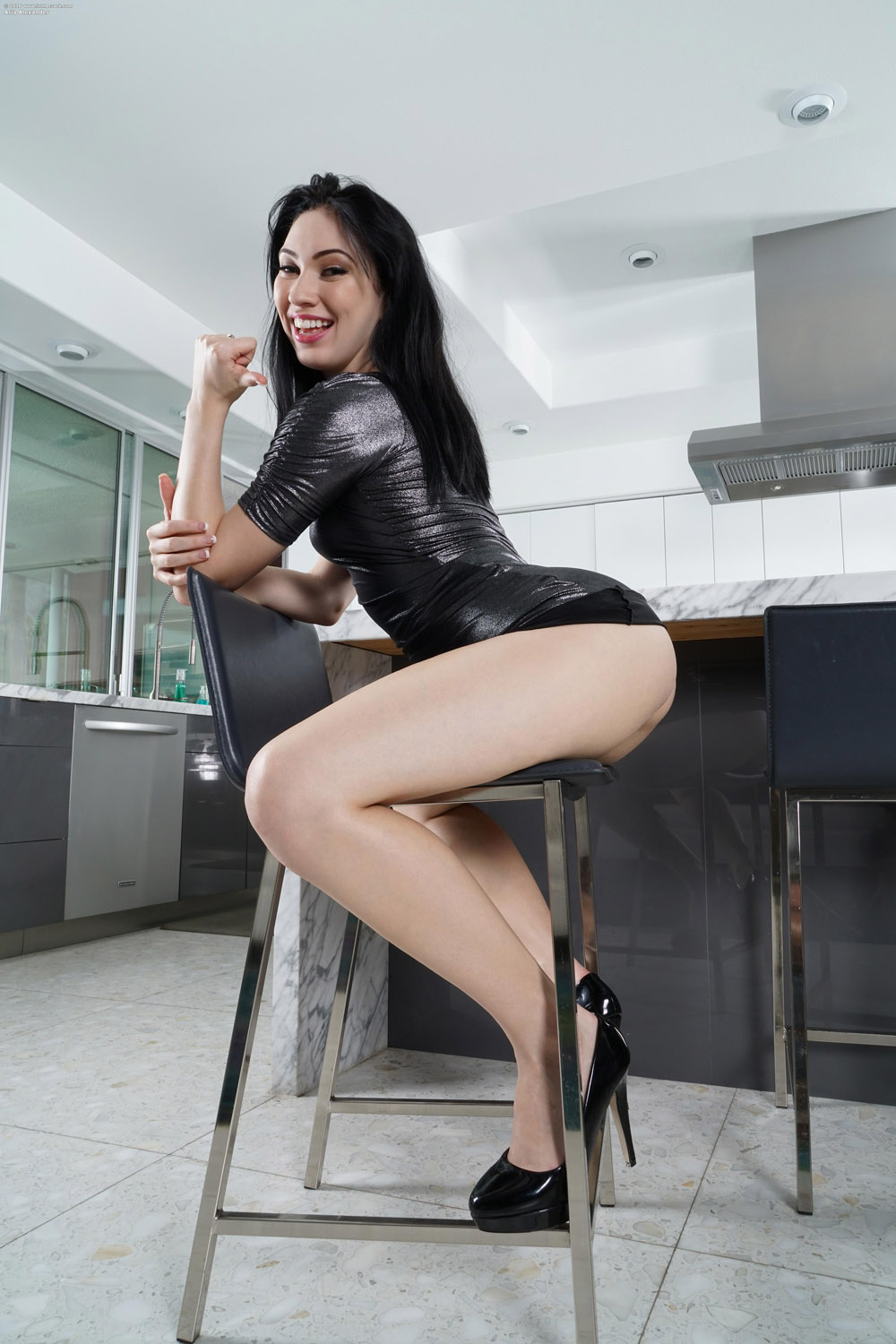 Aria alexander is going to suck her bosses bbc - 2 2