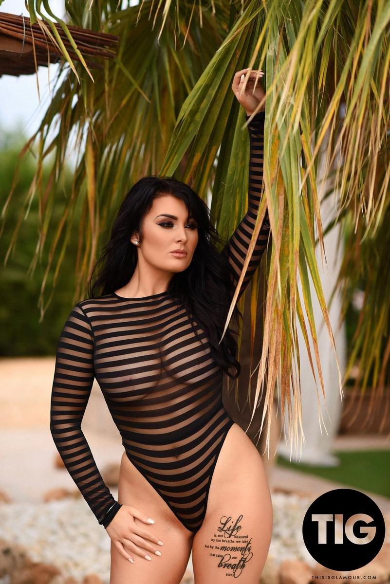 Ashleigh Gee Porno ashleigh gee see thru bodysuit this is glamour / hotty stop