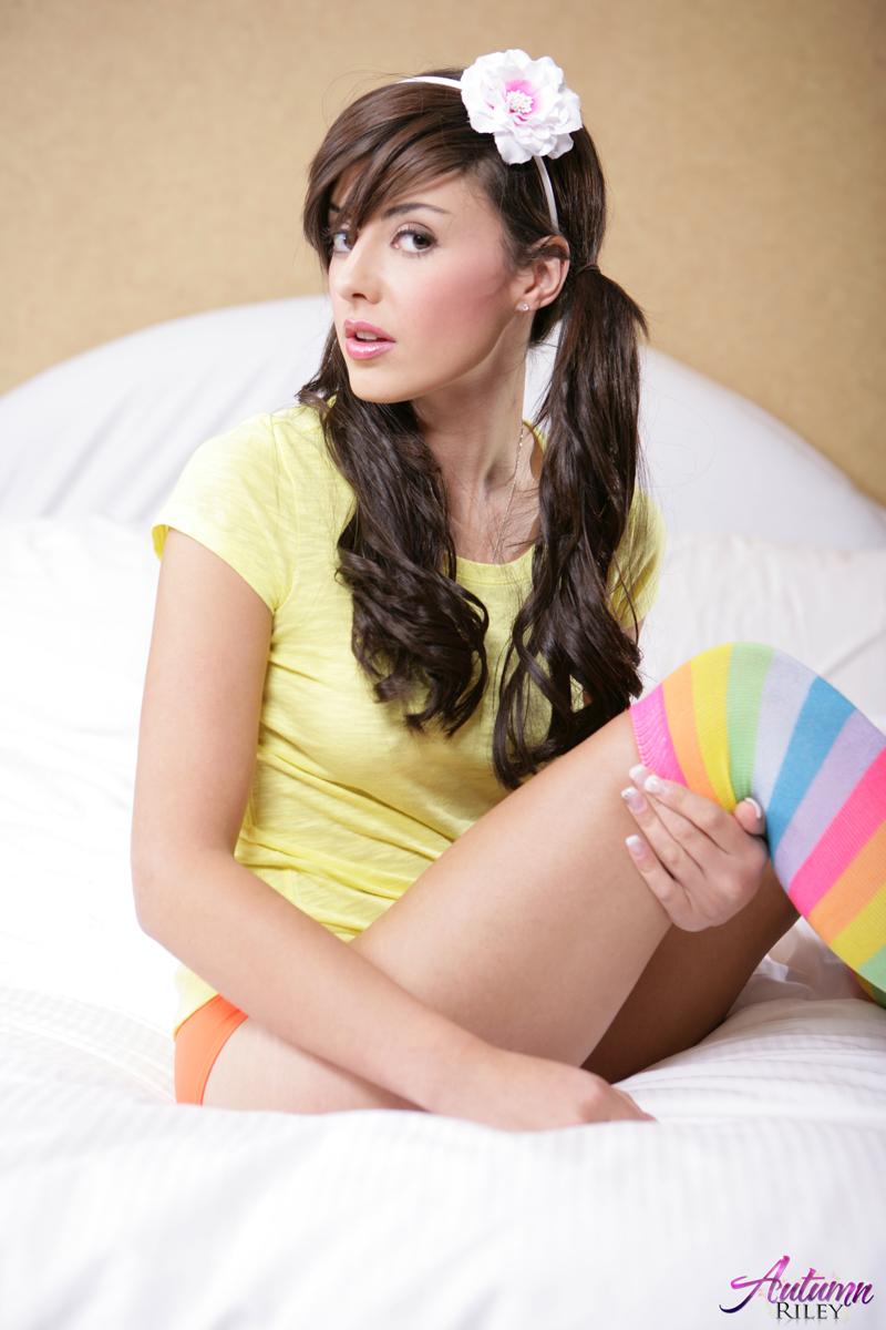 Naked girls in colorful socks, nude finland milk