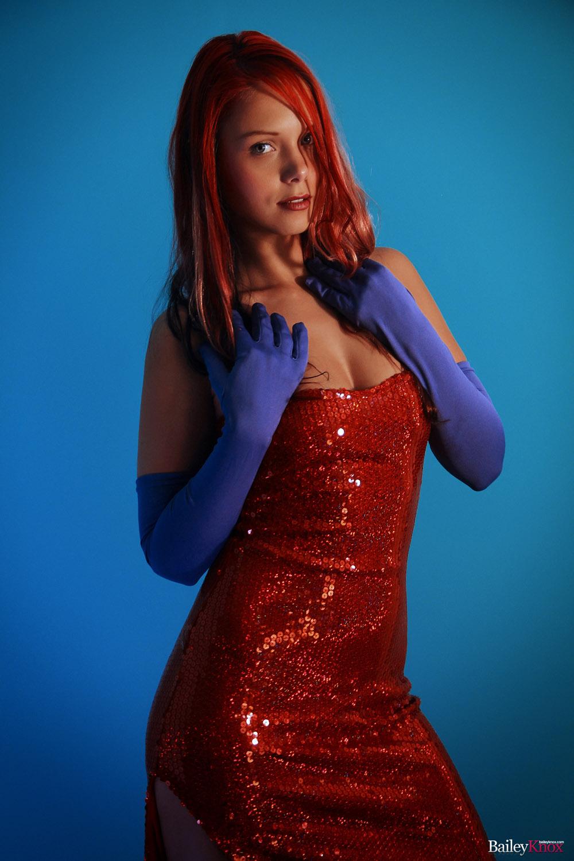 dress up jessica rabbit nude - Bailey Knox Jessica Rabbit Dress ...