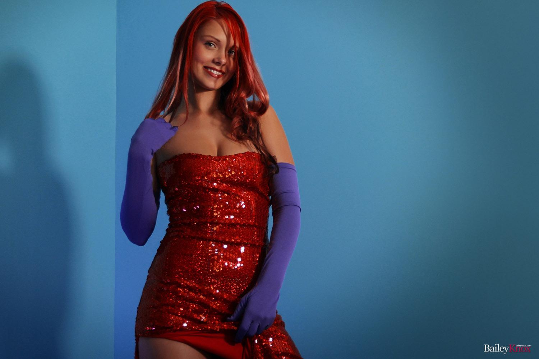 dress up jessica rabbit nude - ... Bailey Knox Jessica Rabbit Dress