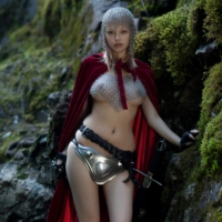 Me! Bree Daniels cosplay warrior nude pictures gallery