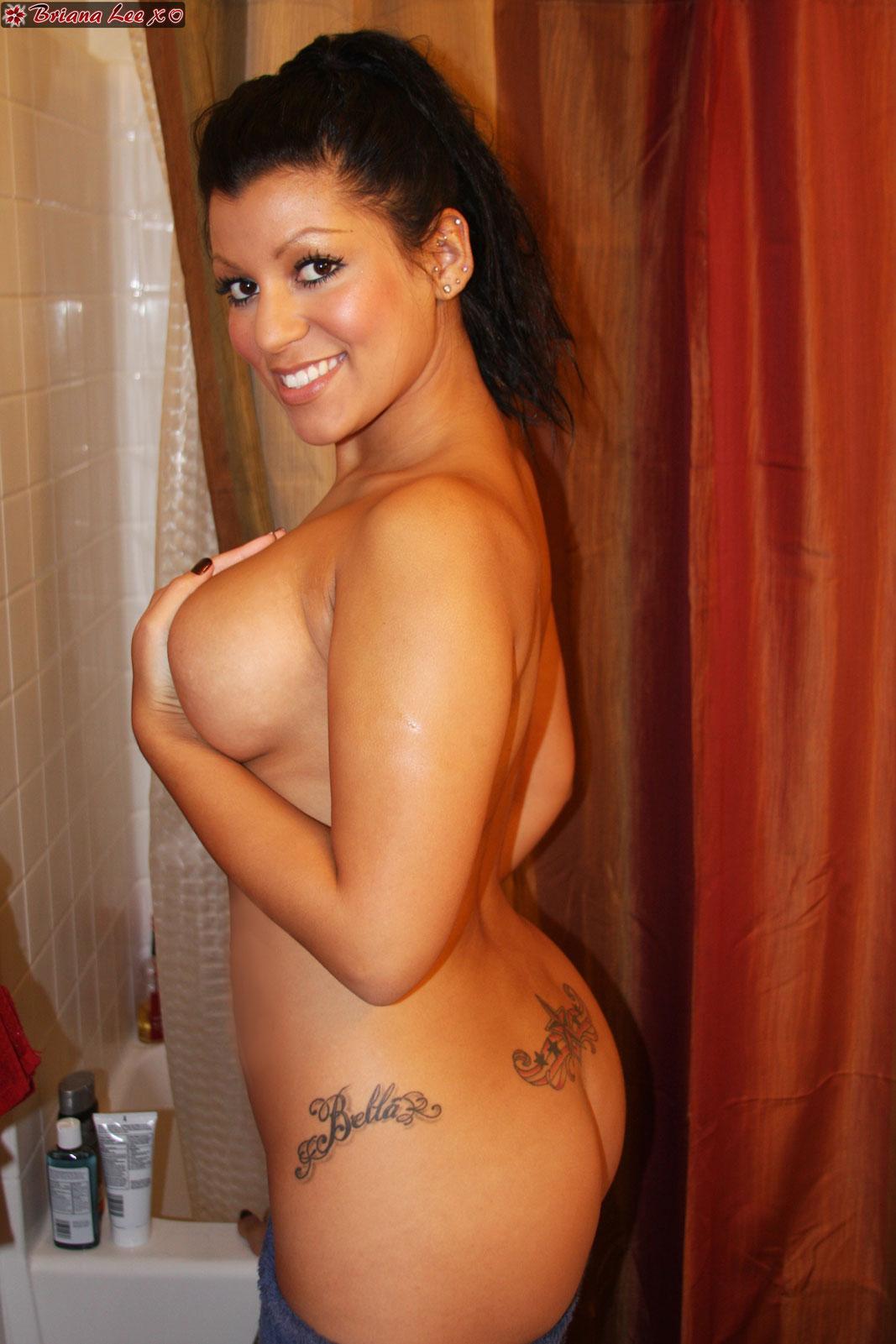 Briana lee shower necessary