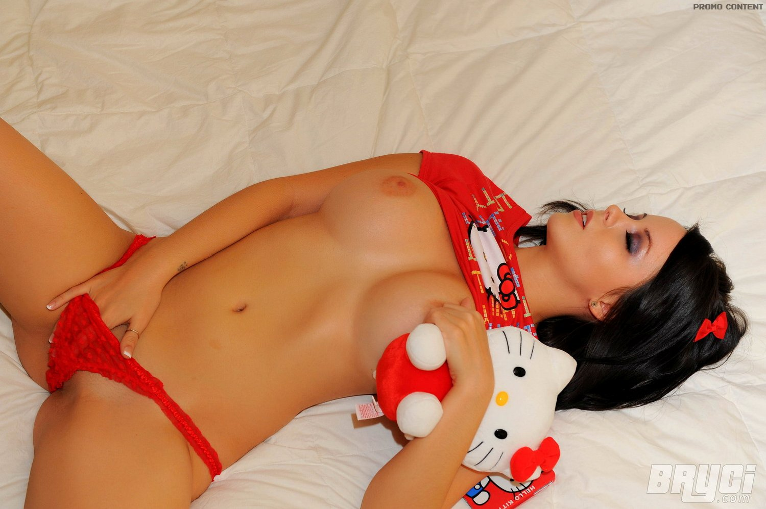 sexy-nude-hello-kitty-young-son-touching-his-mothers-breasts