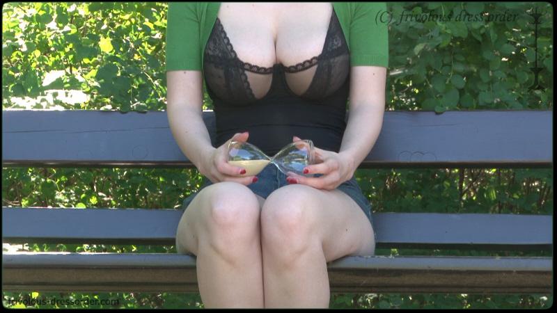 Revealing female breasts in public