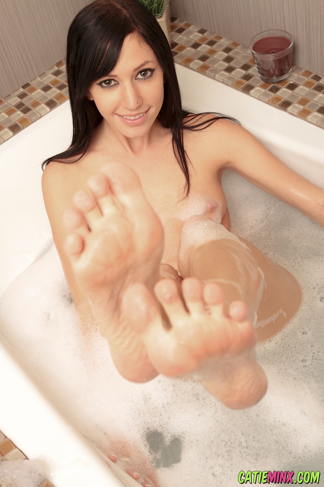 Remarkable, naked girls masturbating with feet question interesting