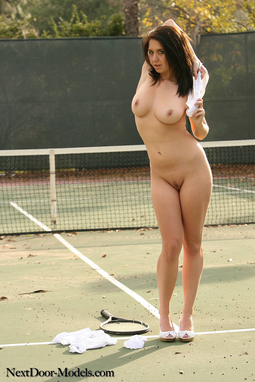 hot women in tennis naked
