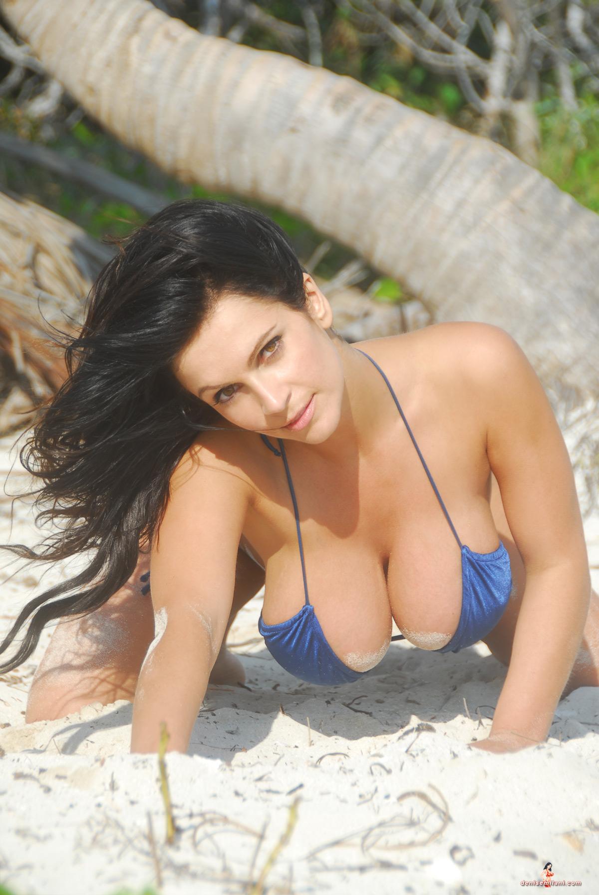 Milani blue bikini denise