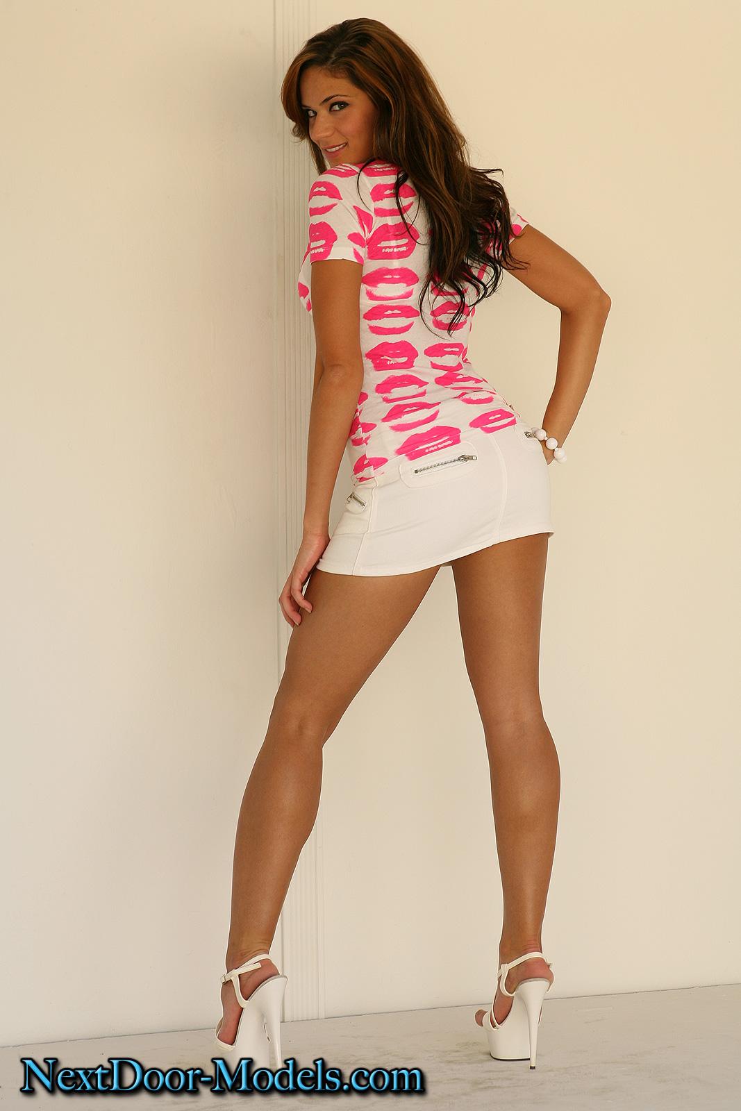 Hotty Stop  Denise Mini Skirt-9026