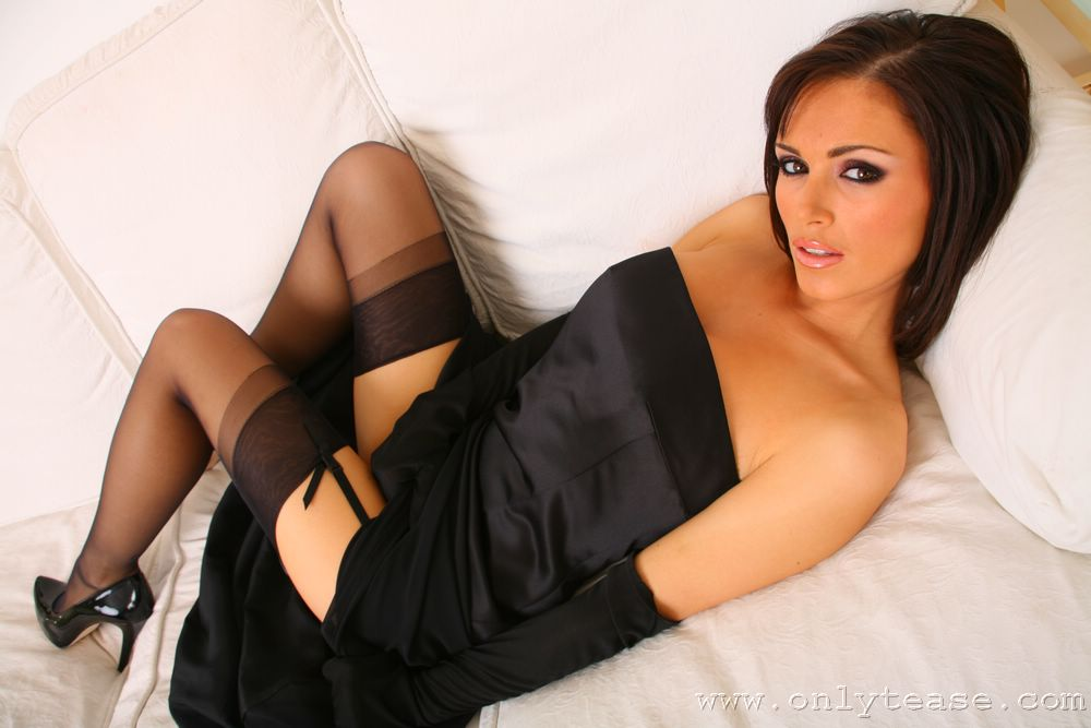 Gemma massey in stockings