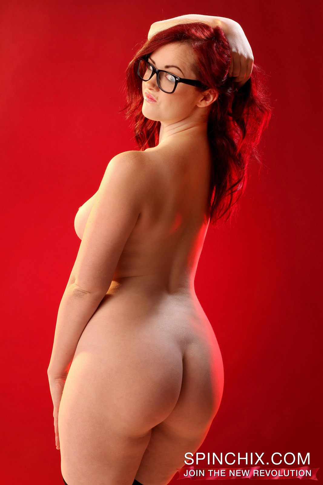 Chubby with glasses fucked in different positions