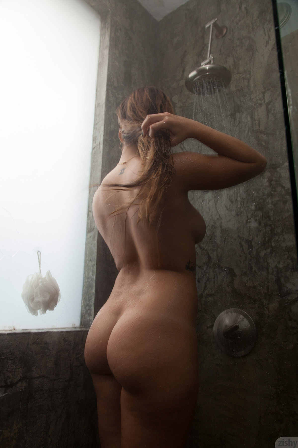 image Povd hot shower sex with hottie kendall kayden