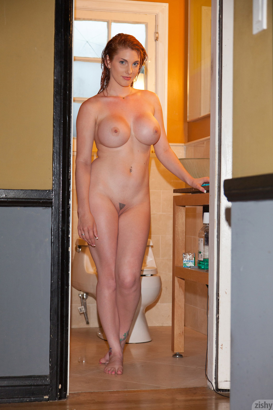 Amusing Nude pregnant redheads in the shower think, that