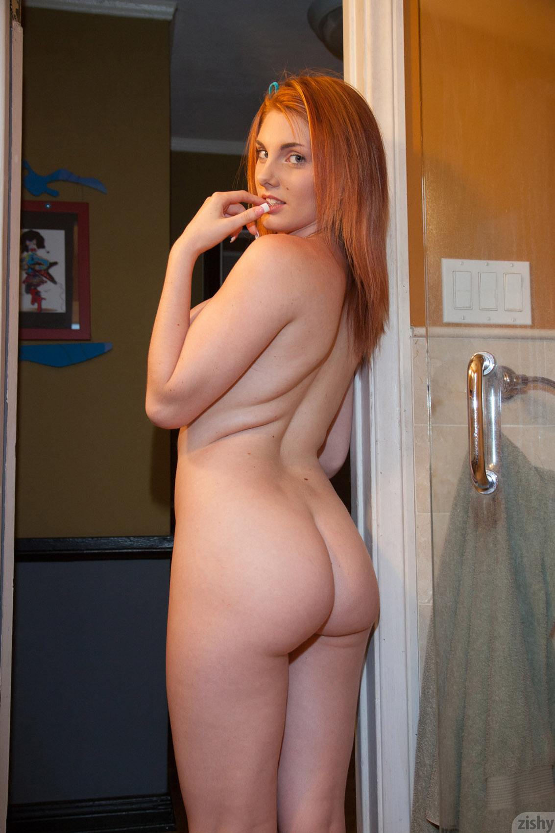 Have hit Nude pregnant redheads in the shower join