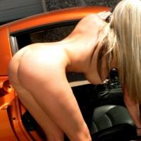 Gisele Naked In Car