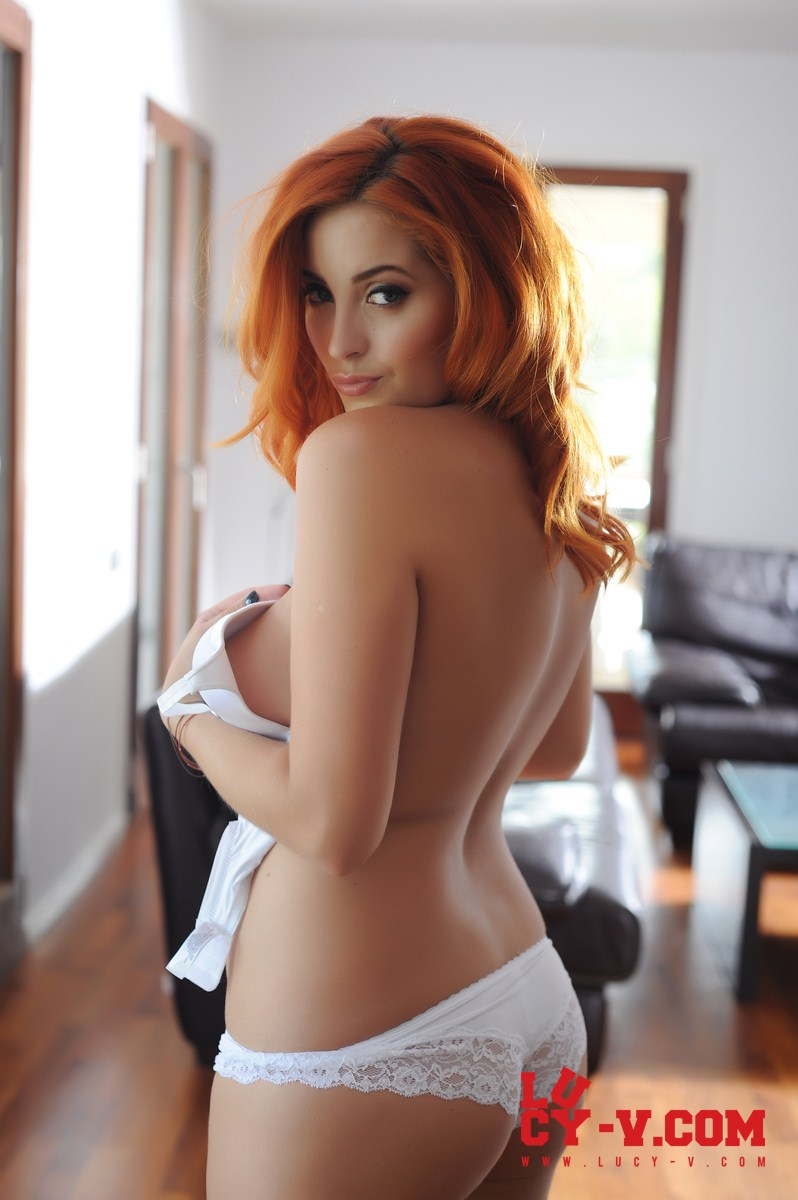 Here against Hot redhead lucy collett really
