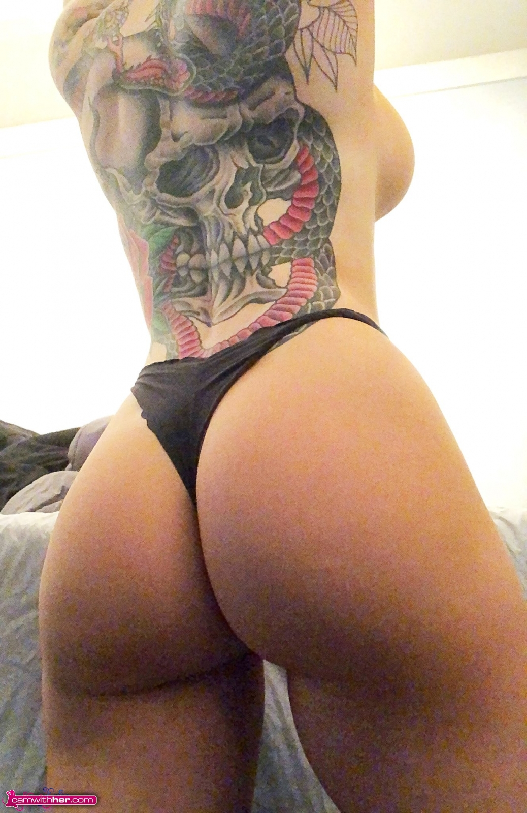 hottystop maggie booty cam with her 7