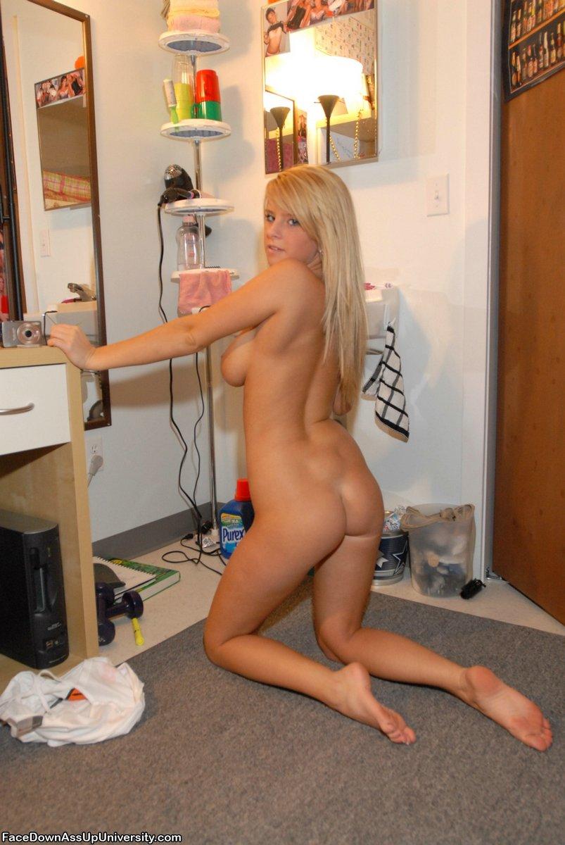Naked College Girl Upshorts
