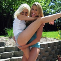 Megan Summers and Misty