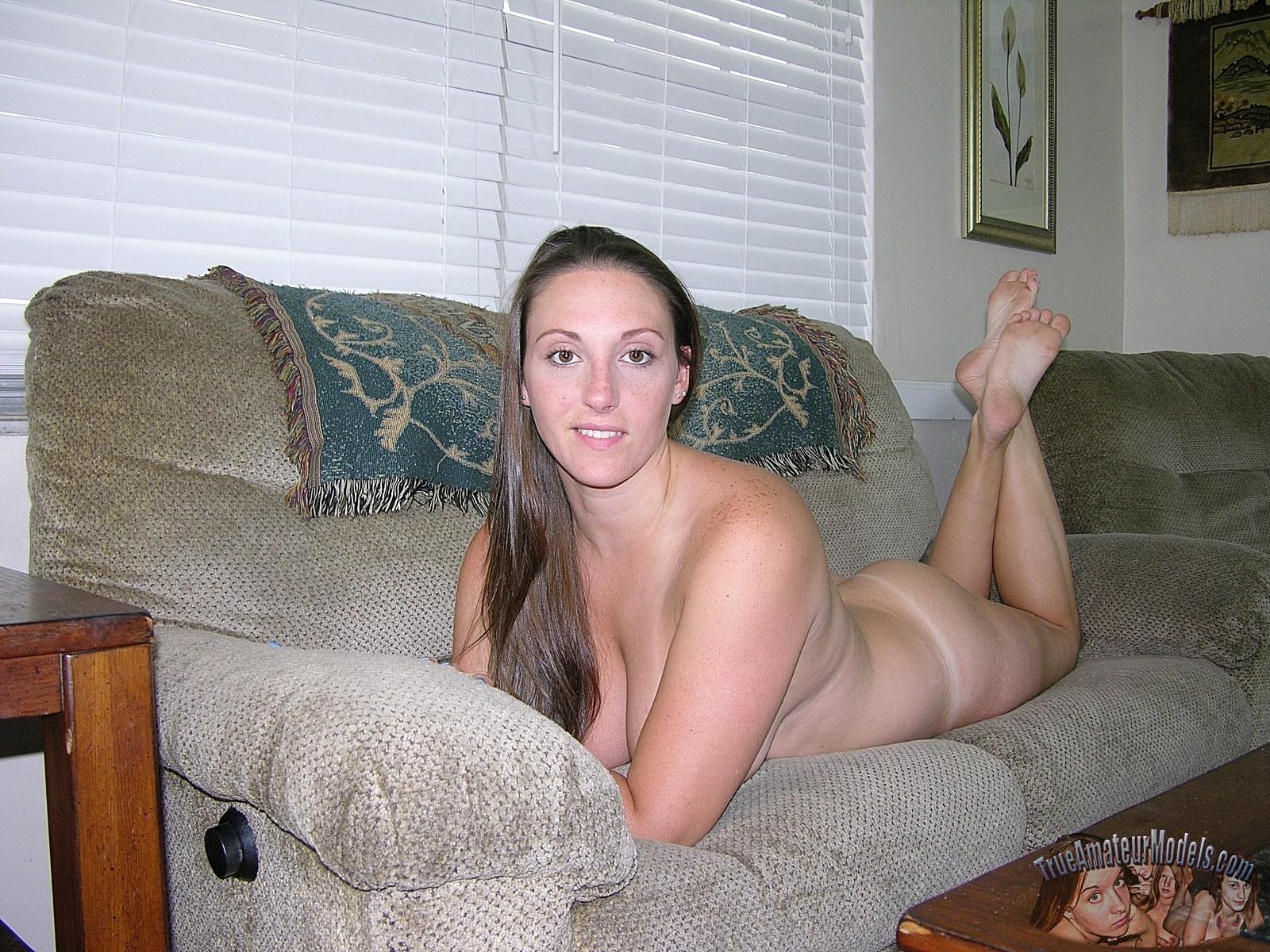 Amateur girl grabs cock