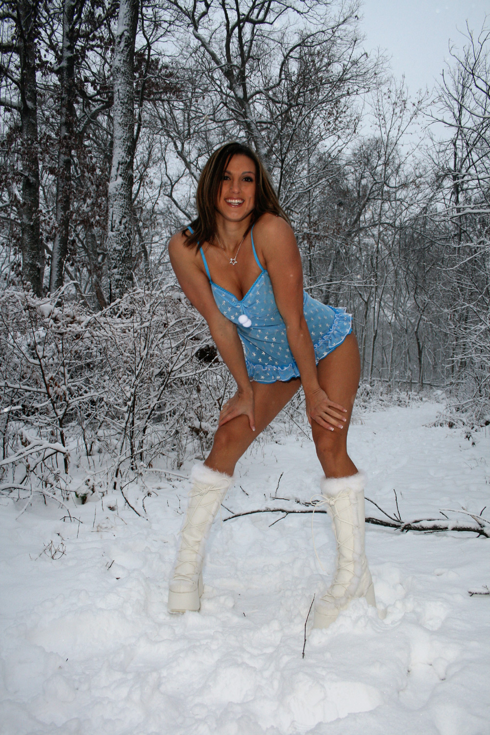 Naked girls snow bunnies very pity