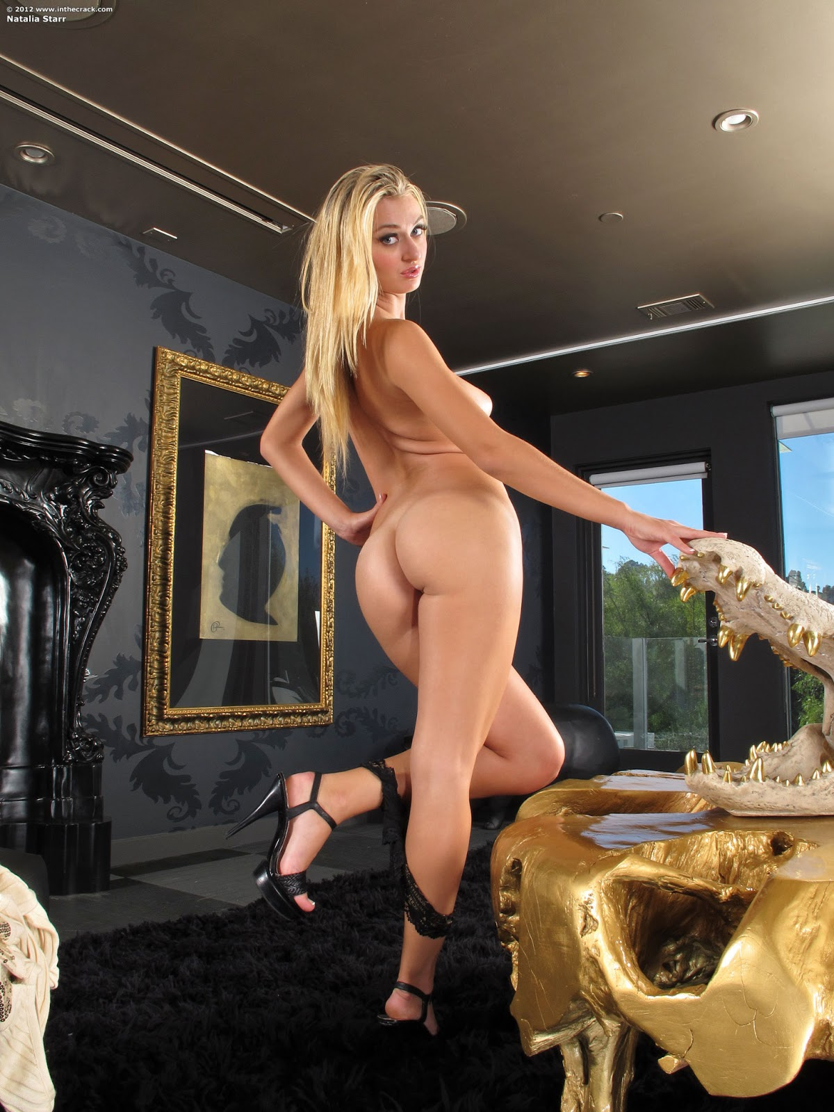 Hotty Stop Natalia Starr In The Crack