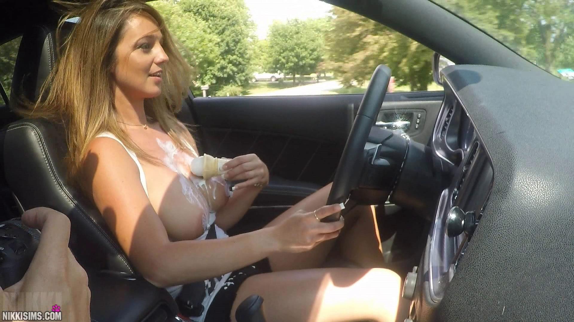 Nikki Sims Tits Video