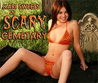 Kari Sweets Scary Cemetary