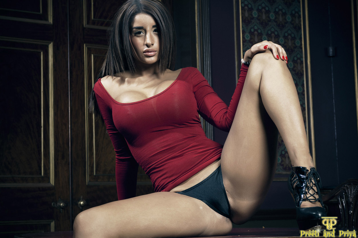 Priya Skin Tight Dress Nude  Hotty Stop-8241