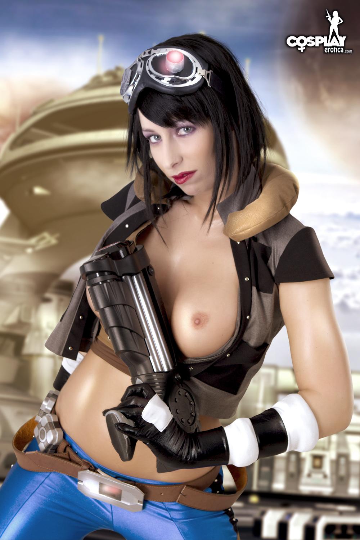 Nude cosplay girl erotica