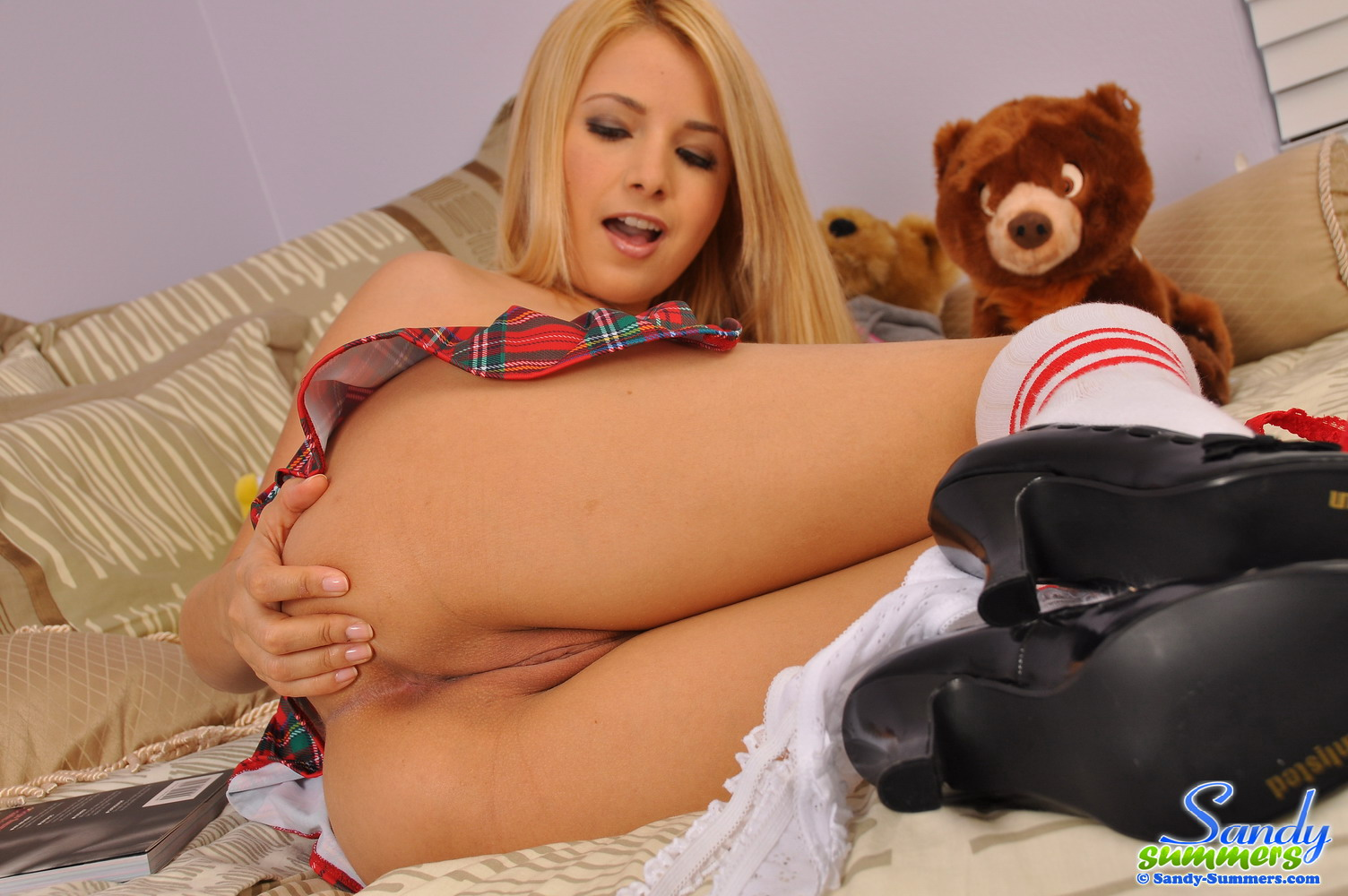 Sandy summers naked nude clips