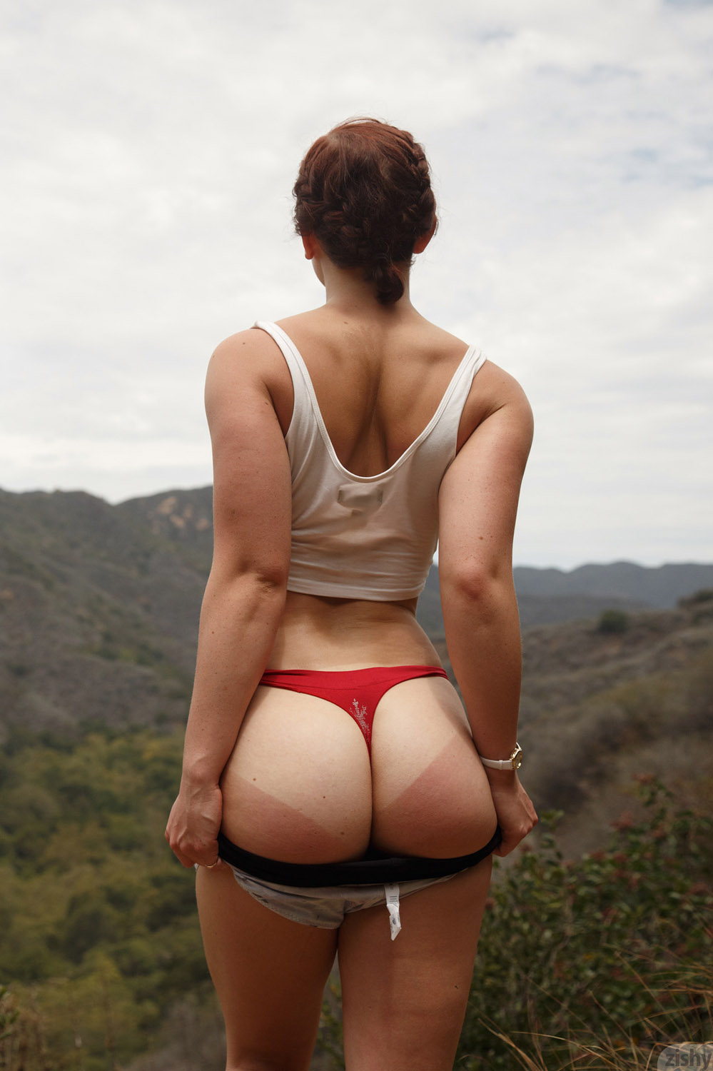 These are uncensored pics of Spencer Bisson nude in public: www.hottystop.com/spencer-bisson-the-naughty-hiker-zishy