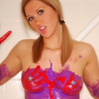 spencer nicks unzensiert body paint nude