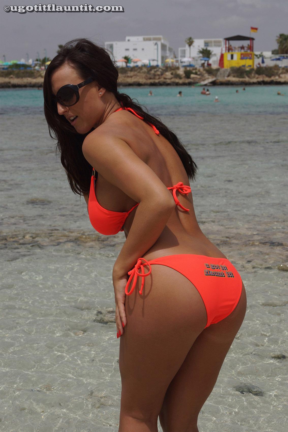 Big beach tits but