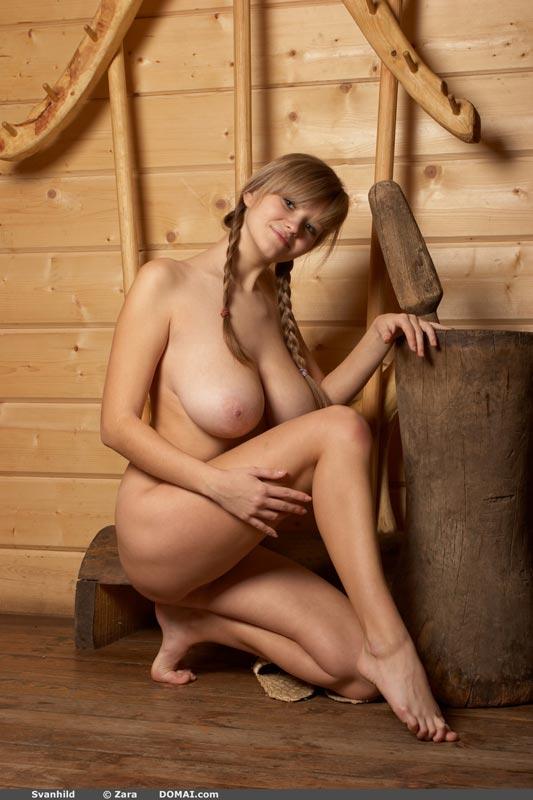 Something Nude petite women svanhild final, sorry