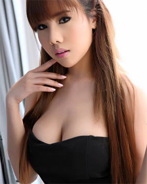 Aeko Jung Cute Perky Asian The Black Alley