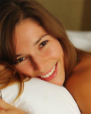 Alece Naked In Bed