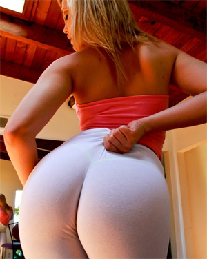Alexis Texas Yoga Pants