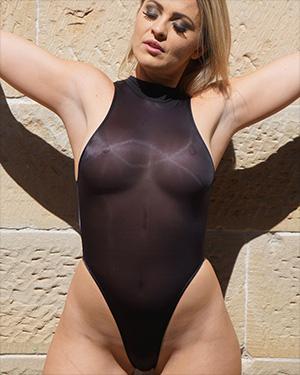 Alexis See Thru Swimsuit Heaven