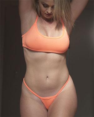 Alexis Tiny Thong Swimsuit Heaven