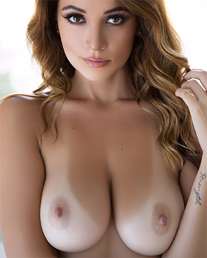 Ali Rose Beauty Boobs and Tanlines
