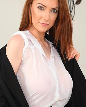 Alice Brookes Intern Doesnt Wear a Bra