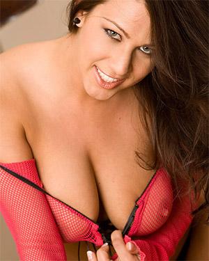 Amanda Barbara Pink Mesh Boobs